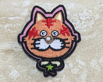 TIGER Iron On Patch or Sew On
