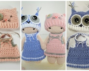 Crochet pattern Tamituzi costume Elli and Minka
