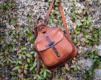 Leather backpack, Ando
