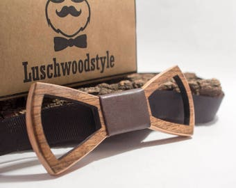 wooden bow tie, wood bow tie, wooden bowtie,gift fot him, handmade,Tie Accessories, 100% handmade, handmade wood bow tie