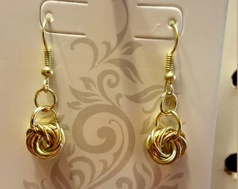 Flowering Chainmaille Earrings