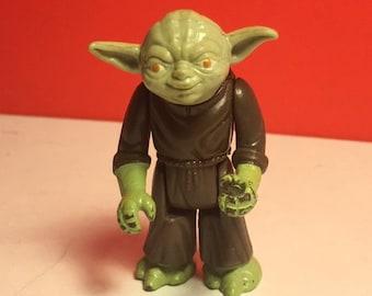1980 KENNER STAR WARS Yoda vintage action figure Jedi Master empire strikes back esb 100% original space toy