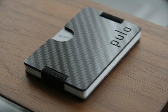 designer money clip card holder wcl4  Pulo Carbonfiber Wallet, Cardholder, Mens Wallet, Minimalist Wallet, Slim  Wallet, Bifold