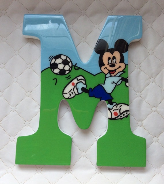 Mickey Mouse soccer theme