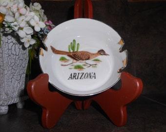 Arizona Roadrunner Ashtray Made in Japan
