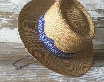 Vintage Children's Straw Hat