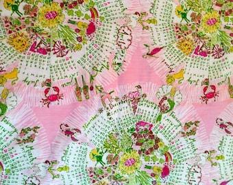 "18""x16"" ~ CALENDAR GIRL ~ Lilly Pulitzer Fabric"
