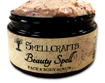 Smellcrafts Beauty Spell Face and Body Scrub 4 oz