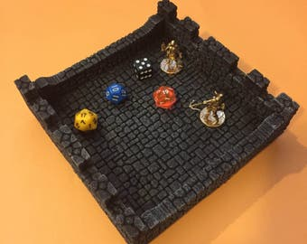 Dice Tray - One of a Kind - Dungeons and Dragons, DnD, Pathfinder, RPG, tabletop, gaming