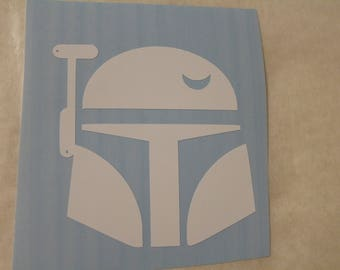 Star Wars Boba Fet Decal Any Size Any Colors