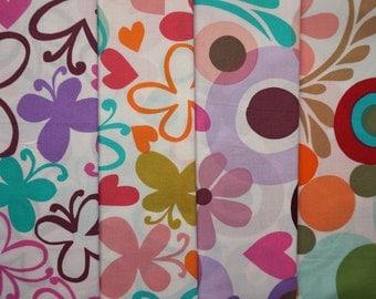 Follow Your Imagination by Prints Charming for Free Spirit - Quarter Yard Bundle - 4 pieces