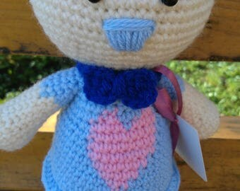 Knitted toy Toy Hare