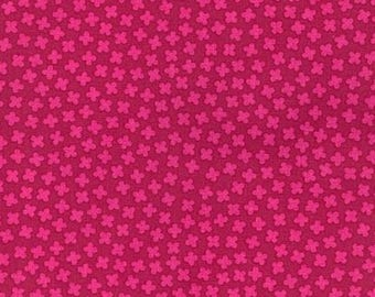 Cerise Blossom from the Paintbox Collection by Elizabeth Hartman for Robert Kaufman, Rhoda Ruth, AZH-15454-363