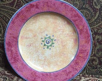 Sakura Salad Plate Malaga 1995 designed by Sue Zipkin