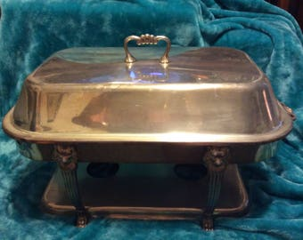 Hollywood Regency Double Chafing Dish