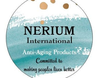 Nerium Sticker - sheet of 24