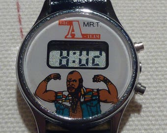 Vintage A-Team/Mr T LCD Watch