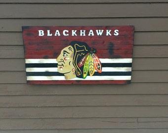 Chicago Blackhawks Flag