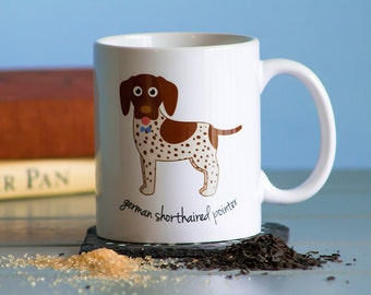 German Shorthaired Pointer Mug (boy)