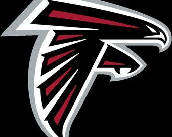 Atlanta Falcons Decal, Atlanta Falcons Football, Falcons Yeti Decal, Falcons Car Sticker, Falcons Football Decal, Falcons Fanwear