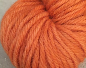 Peruvian Highland Wool - Bulky Weight - Kettle Dyed - Feltable - approx. 137 yards - 100 grams - OOAK MANGO