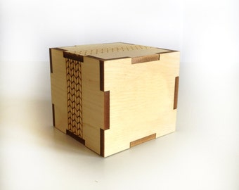 Wooden box from Cedar 6 / Laser cut / Wood box / Wooden box engraved / Wooden box personalized / Laser cut Box / Wooden box / Laser engraved