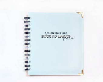 SALE DYL® Back to Basics 2017 Planner | Vertical layout