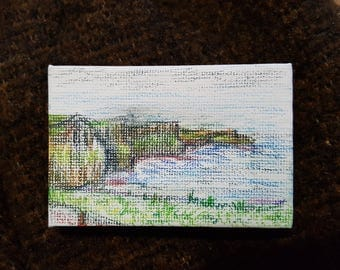 Cliffs of Moher drawing