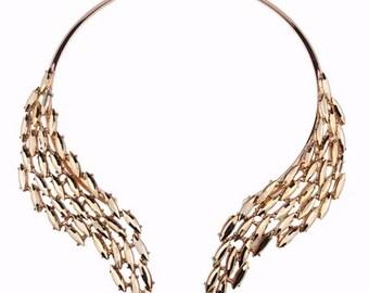 Statement Necklace, Rhinestone Necklace, Bib Necklace, Trendy Necklace, Special Occasion Jewelry, Fashion Jewelry