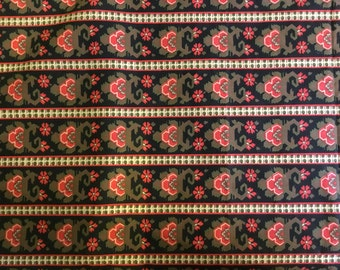 100% cotton Red Sunrise fabric 145cm wide. Limited Stock.