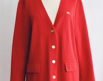 Jacket red Burberrys.