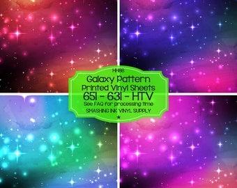 Galaxy Space Vinyl/Printed Stars Heat Transfer Vinyl/Patterned Vinyl/Printed 651 Vinyl/Printed 631 Vinyl/Printed Outdoor Vinyl/Printed HTV