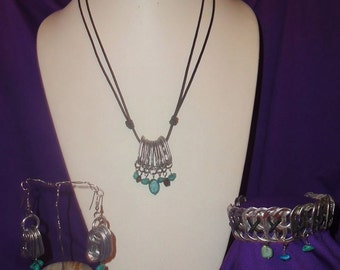 Turquoise Made by Domestic Violence Survivors