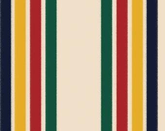 Hudson Bay Print, Hudson Bay Stripe Point Blanket, Adirondack Art, Adirondack Decor, Adirondack Mountain, Adirondack Poster, Adirondack