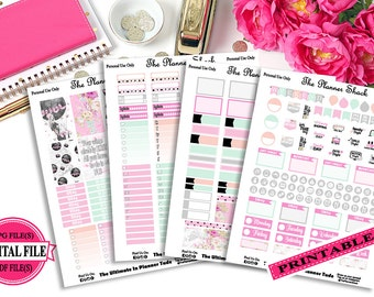 Take Flight - Happy Planner - Printable Planner Stickers