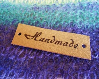 Knitting Accessories, Custom Clothing Labels, Knitting Labels, Leather Labels, Custom Tags, Clothing Labels, Personalized Label Tags