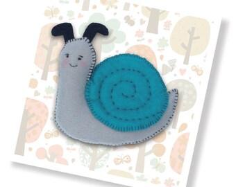 Sammy the Snail Sewing Kit