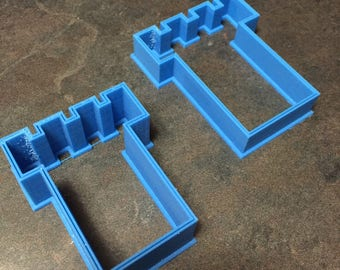 2 Watchtower shaped cookie cutters