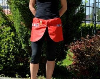 Agility mini skirts-Kilt Red Ladybug
