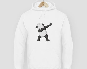 Swag Fashion Dab Panda Hoodie Sweatshirt