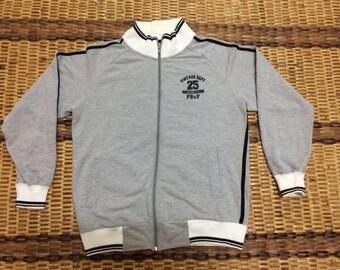 Vintage 90's PoshBoyXF Sport Classic Design Skate Sweat Shirt Sweater Varsity Jacket Size L #A576