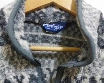 Vintage penfield fleece jacket pullover/medium/hiking/rocky mountain