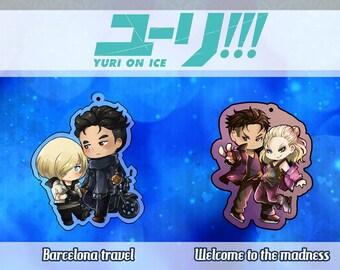 Yuri on ice- Otayuri acrylic charm