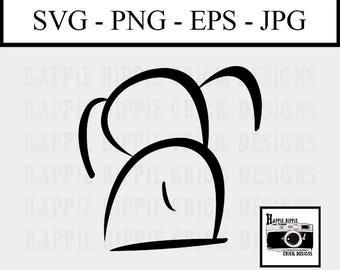 Commercial Use SVG - Dog SVG File - SVG Cut File - Cut File for Cricut - Commercial Use Clip Art - Doodle Dog - Dog Clip Art - Dog Art Print