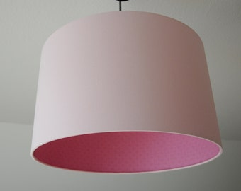 "Lampshade ""Rosé mustered"""
