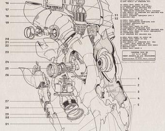 Gaster Blaster Blueprints