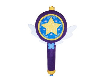 Star vs The Forces Of Evil Wand Plush Toy