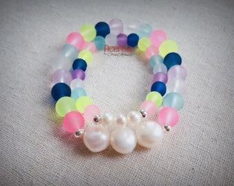 Mom & Daughter Trio Bracelet Set
