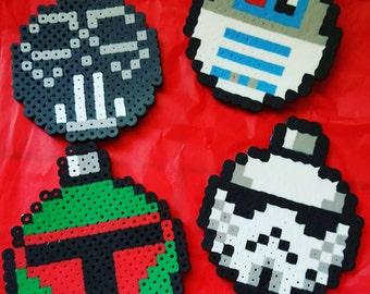 Star Wars Ornaments (set of 4)