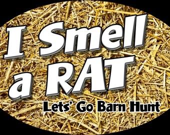 I smell a Rat - Lets go Barn Hunt
